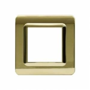 Ramka złota plastikowa x1