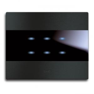 dotykowy włącznik światła czarny