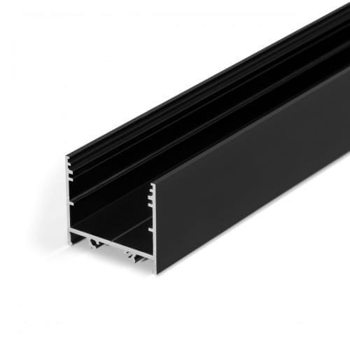 srebrny profil LED