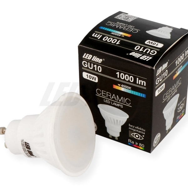 GU10 żarówka LED halogen