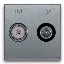nowoczesne gniazdo FM