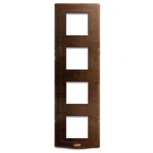 poczwórna ramka drewniana retro