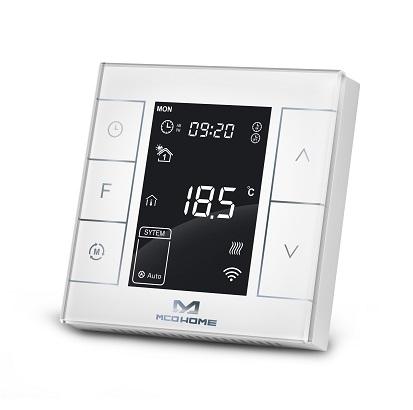 smart termostat mcohome MH7 biały