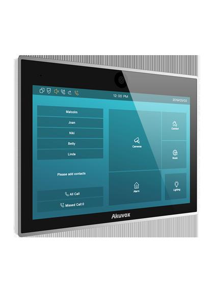 ekran panel wideodomofonu
