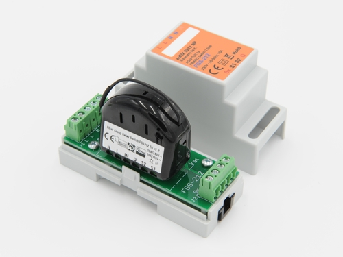 adapter na smart moduł szyna DIN