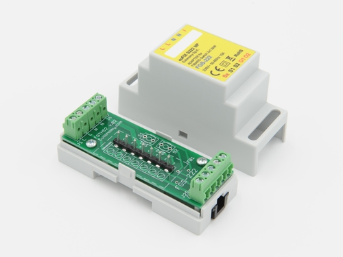 inteligentny adapter szyny DIN