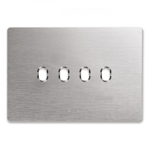 ramka z aluminum szczotkowanego AVE
