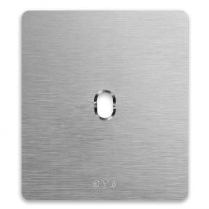 ramka włącznika retro aluminium