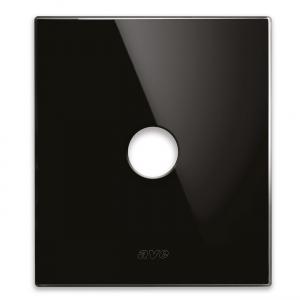 szklany włącznik retro czarny