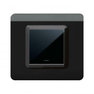 czarny włącznik światła AVE połysk