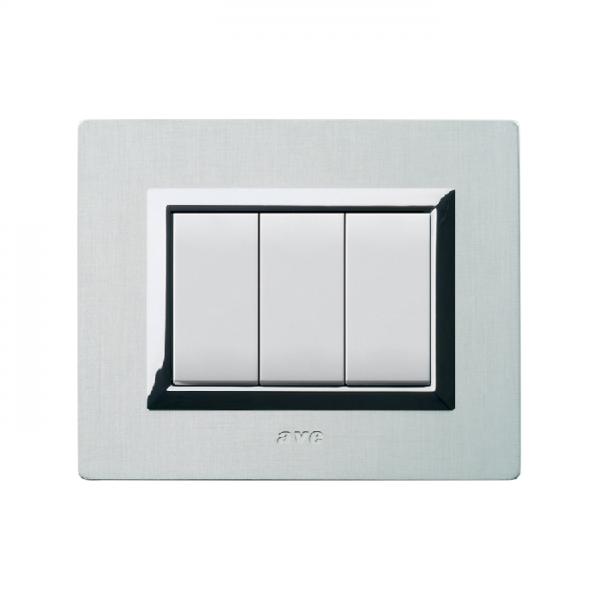 ramka do włącznika światła szklana biała