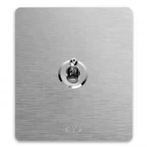 minimalistyczny włącznik światła retro