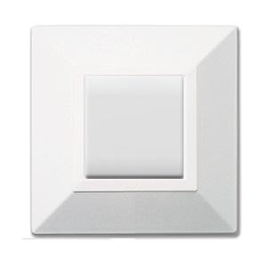 biały dotykowy włącznik światła