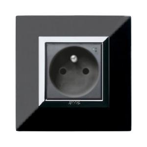 czarne ganizdko elektryczne stylowe