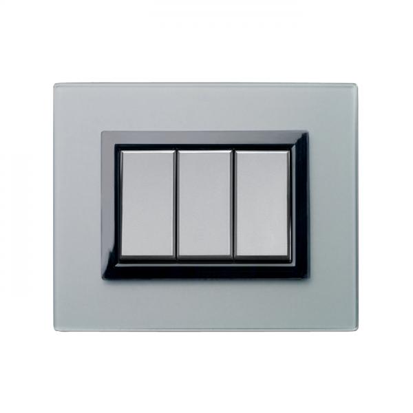 włącznik światła i ramka włącznika AVE