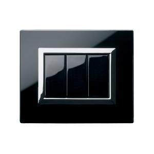 Ramka czarna szklana
