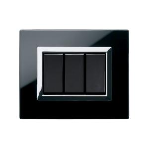 ramka włącznika światła ze szkła