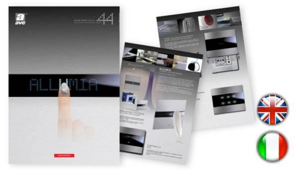 nowoczesne włączniki światła AVE