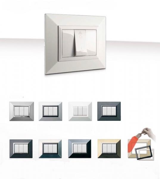 designerskie włączniki światła z Włoch