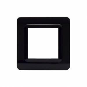 Ramka czarna plastikowa x1