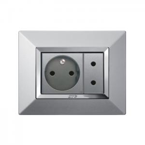 Ramka aluminium metal nowoczesna