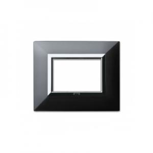 Ramka metalowa czarny mat 3M