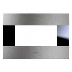 Ramka włącznika aluminium szczotkowane