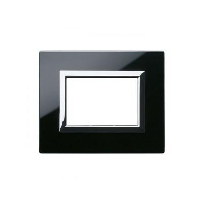 Ramka czarna szklana 3M