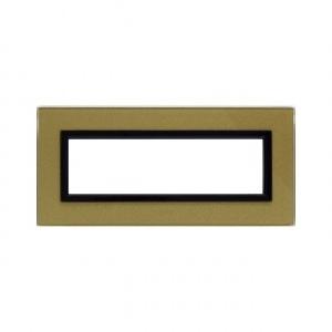 Ramka szklana złota 7M