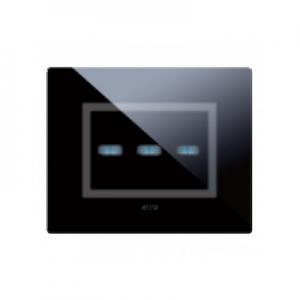 szklany dotykowy włącznik designerski