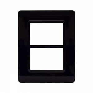 Ramka czarna plastikowa 3+3M