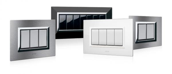 ramki białe szklane do włączników
