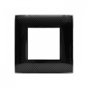 Ramka 3D ciemny carbon x1