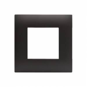 Ramka czarny mat plastikowa x1